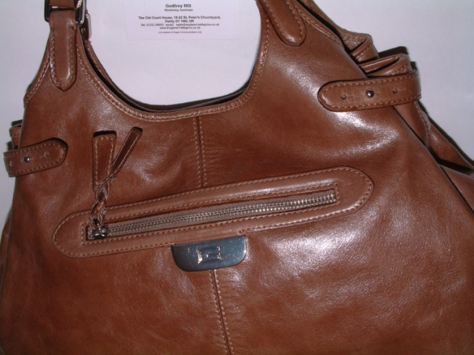 Giudi Italy Designer Leather Large Multiuse Ladies Luxury Handbag G5089 Brown