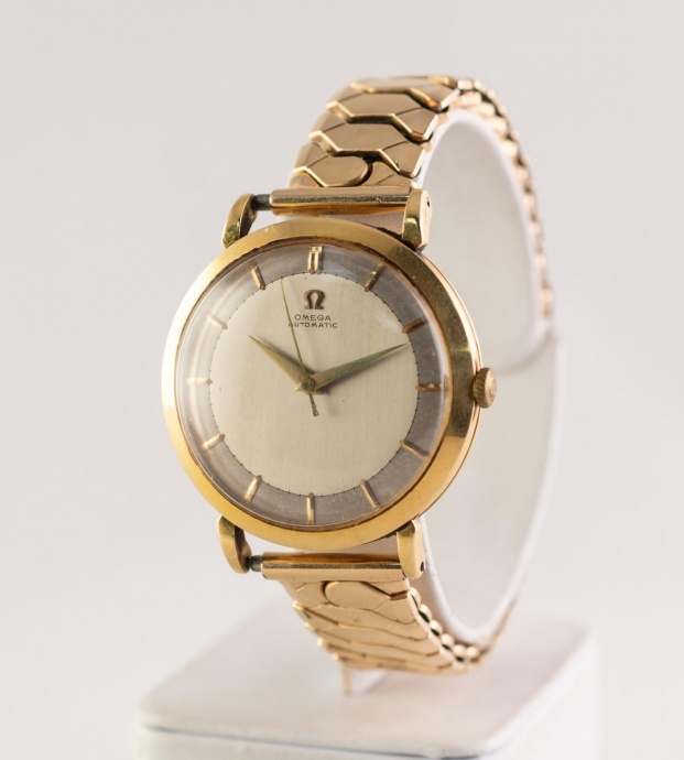 Omega Gents Automatic 1954 18ct Gold Cased Wristwatch