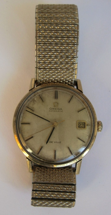OMEGA Vintage 1972 9ct AUTOMATIC DE VILLE ORIGINAL GENTS WATCH CAL 684
