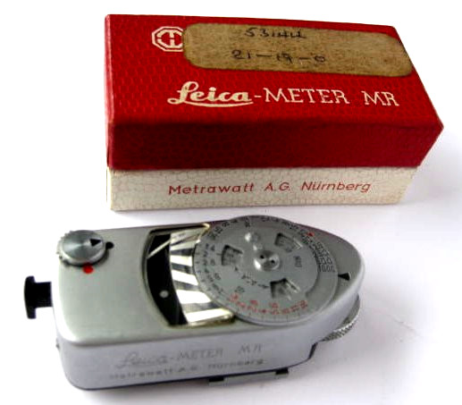 Leica-Meter MR, light meter
