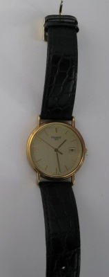 Tissot Gold Run Hessalite 18ct gold quartz