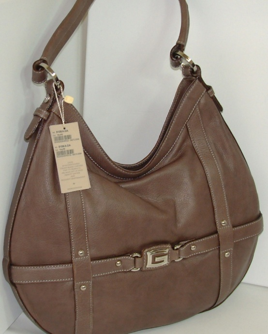 Giudi Italy Designer Leather Large Crossstrap Ladies Luxury Handbag G5108 Dark Brown