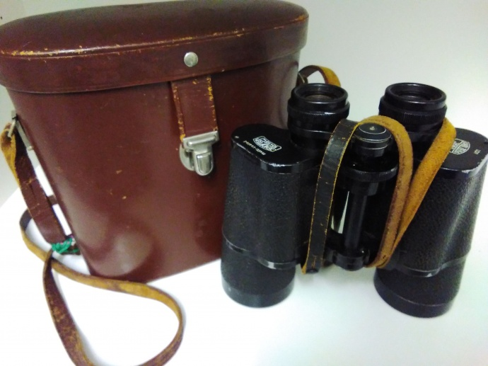 GENUINE Carl ZEISS Jena DDR JENOPTEM Binoculars 10x50W Multi-Coated Lenses with case