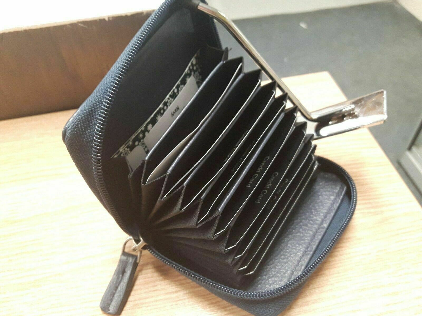 Bolla Real Leather Concertina Coin Purse