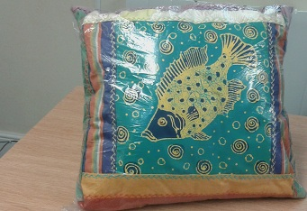 Cushions - African Handmade Designer with Deep Sea Pattern