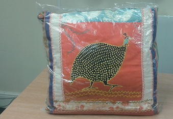 Cushions - African Handmade Designer with Pheasant Pattern