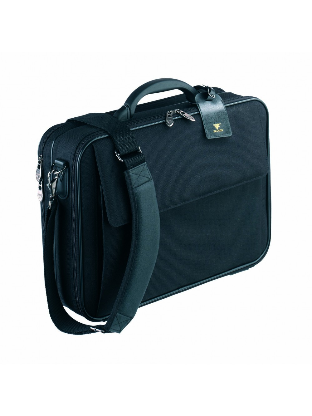 Falcon Bags 16'' Laptop Business Bag Case Black
