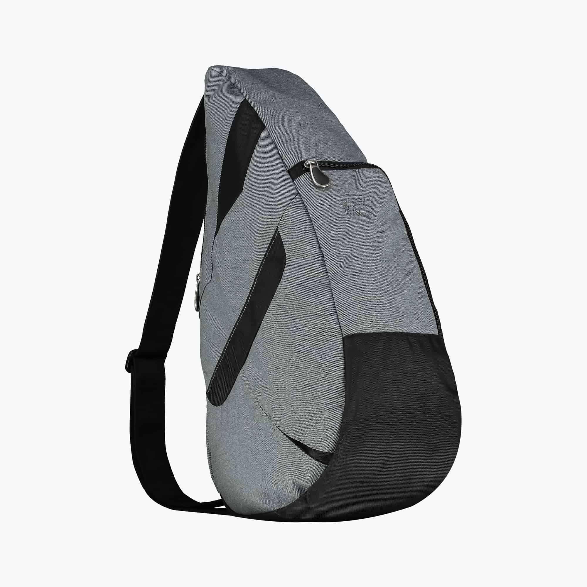 Healthy Back Bag Denim Traveller Backpack Grey MEDIUM