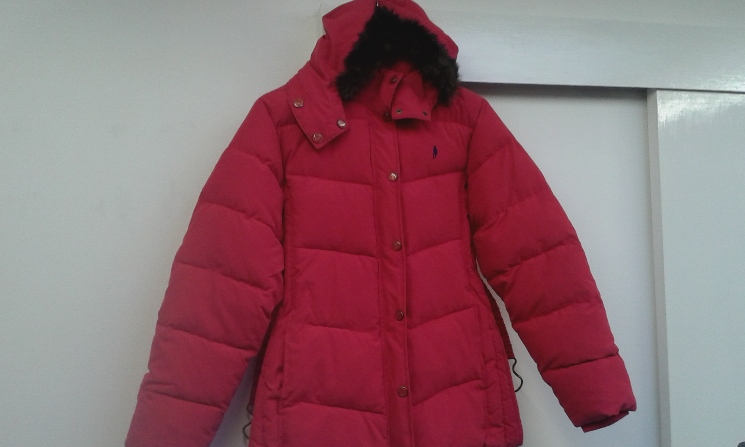 Jack Murphy Coco Ladies Heavy Quilted Jacket BERRY RED