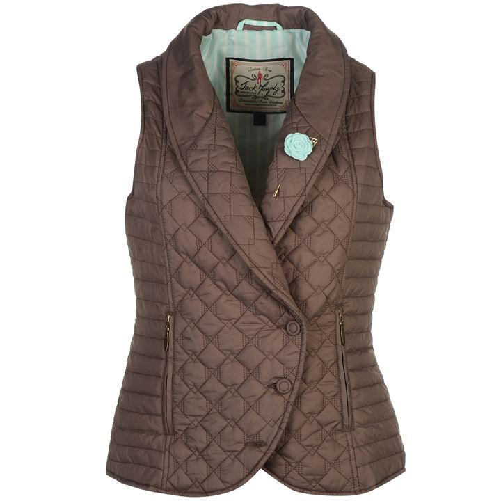 Jack Murphy Madison Flint Quilted Ladies Gilet