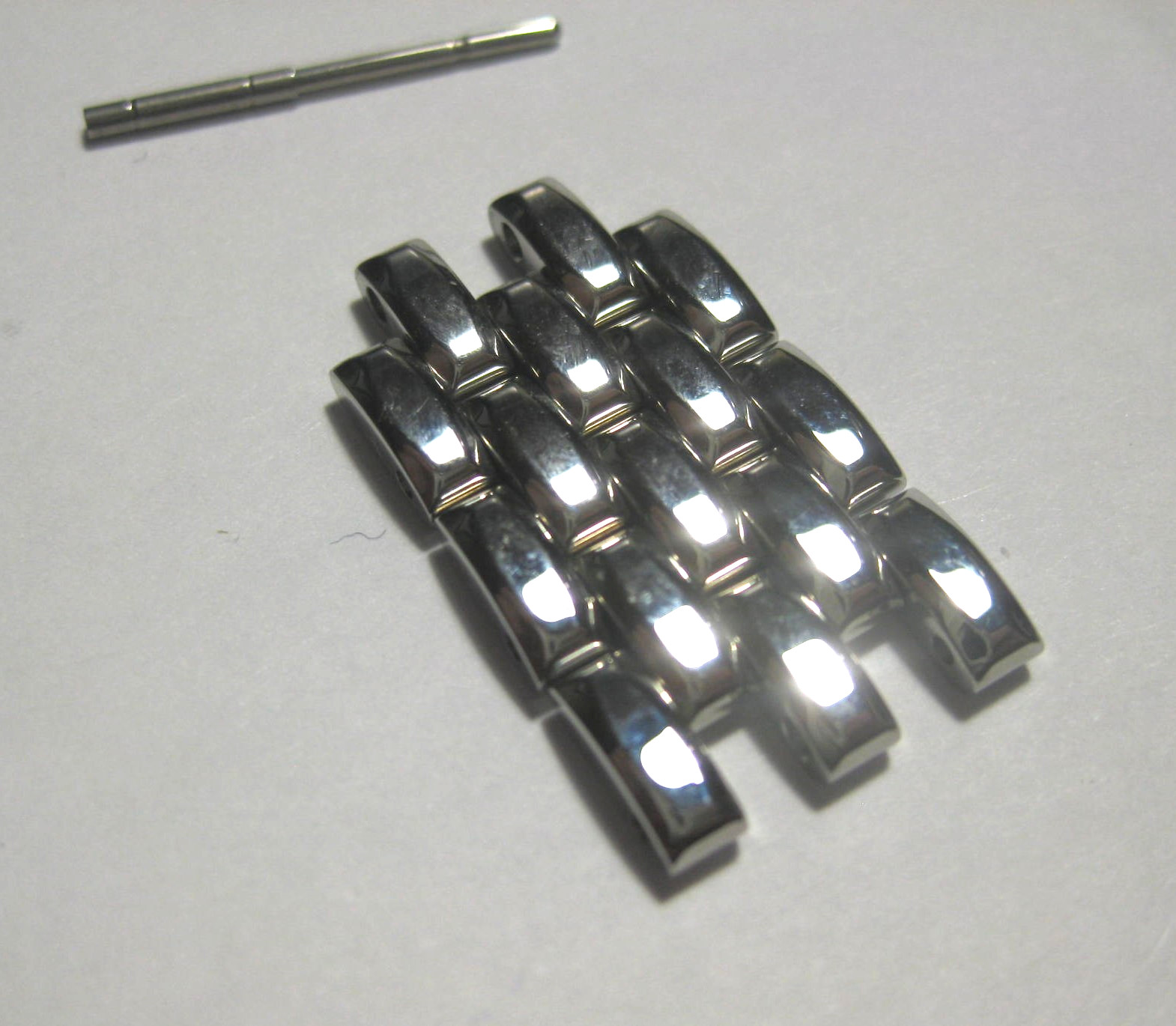 Jaeger Le-Coutre REVERSO 14mm Stainless Steel Watch Bracelet links with Pin