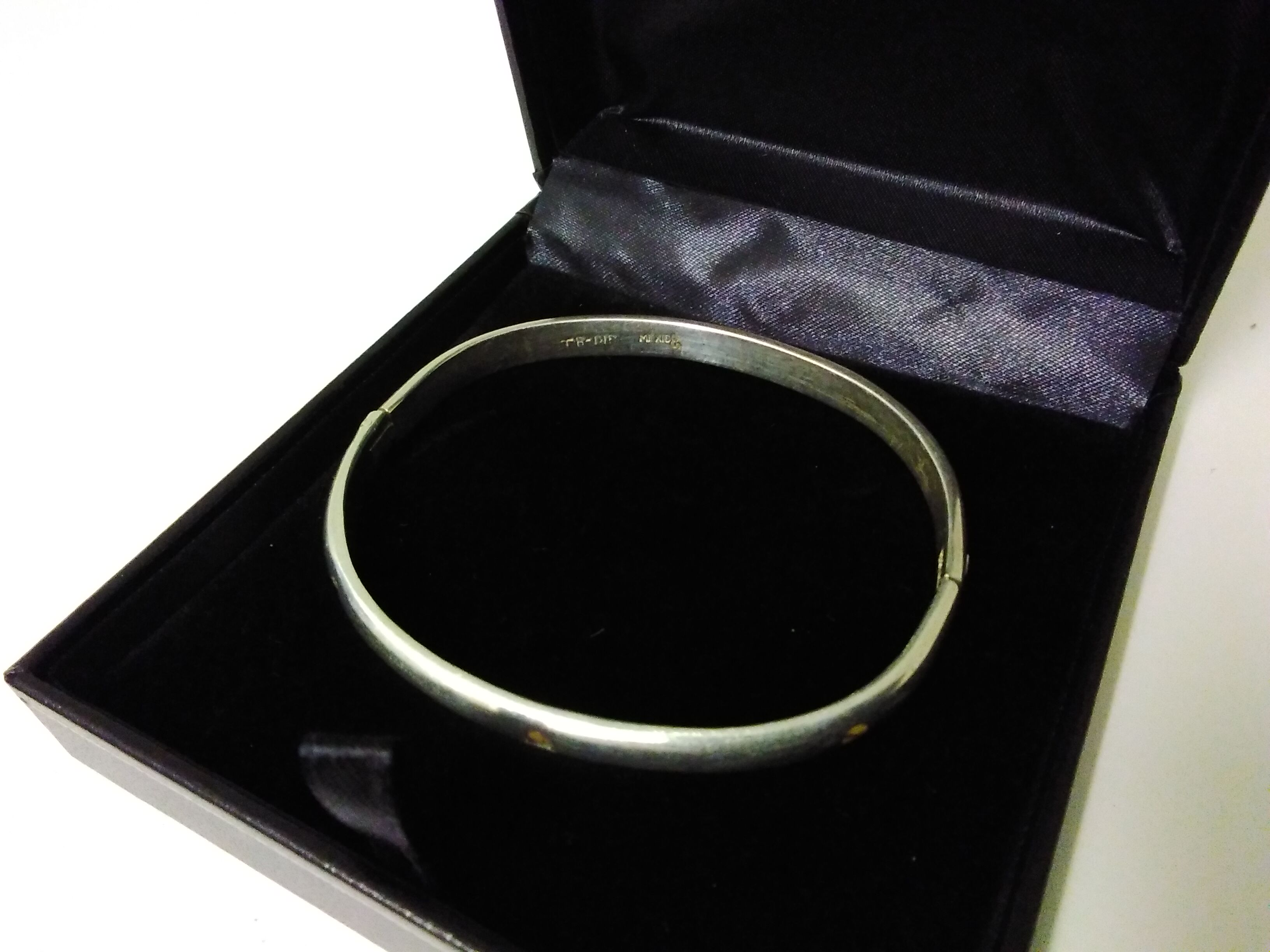 Silver 925 Sterling Mexican Bangle