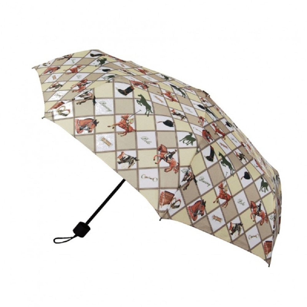 Umbrellas- Signare Tapestry Equestrian Straight Handle