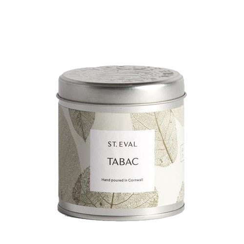 St Eval GARDEN OF EDEN Scented Tin Long Burn Candles TABAC
