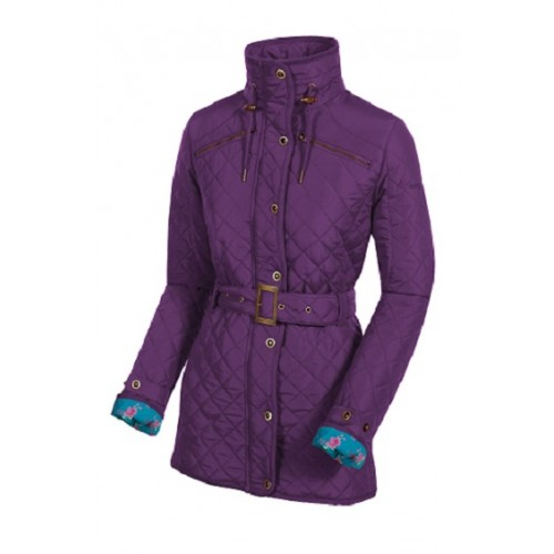 Ladies Jackets - Target Dry Ascot Quilted Jacket PERSIAN PURPLE