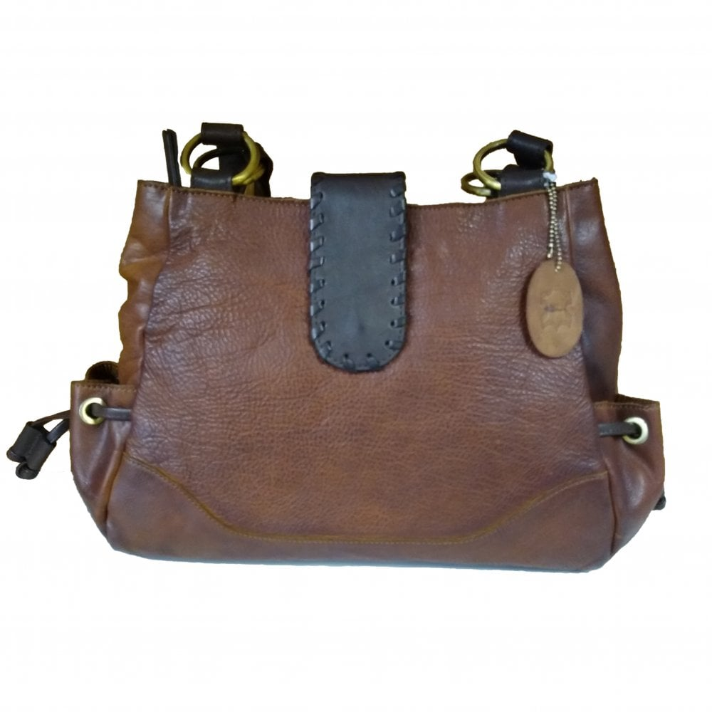 Bolla Camellia Brown - Twin Handle Shoulder Bag